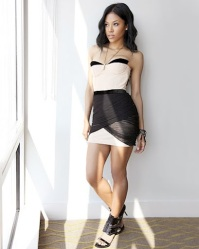 Amerie gets chic for ELLE Magazine