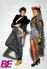 Angie and Vannessa do a shoot.. Rihanna is RED Hot