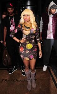Nicki Minaj roaming London...
