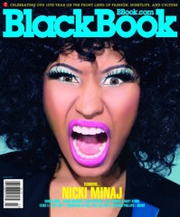 Nicki Minaj for Black Book Magazine