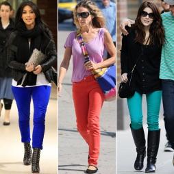 Spring Trend: Colored Denim