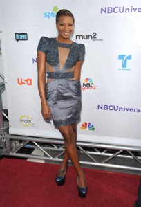 Eva Marcille in Jad Ghandour at NBC Universal All Star Party