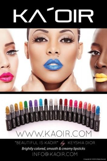Keyshia Dior's Lipstick Line KA'OIR