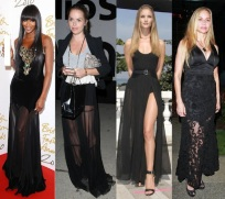 Trend to Try: Sheer Maxi Skirts
