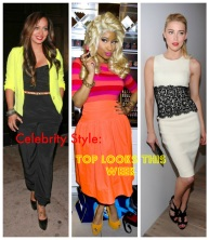 Celebrity Style: Top Looks this Week