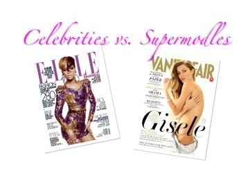 Fashion Discussion: Celebrities vs Supermodels