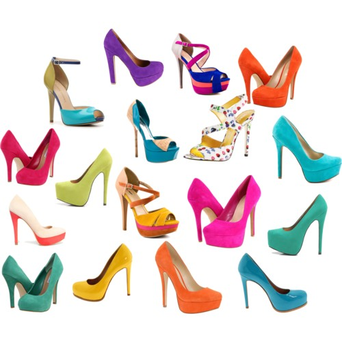 Colorful Spring Shoes Under $100