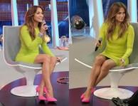 Celebrity Style: Jennifer Lopez in Neon Yellow Michael Kors
