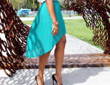 The High-Low Skirt
