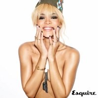 Rihanna for UK's ESQUIRE Magazine