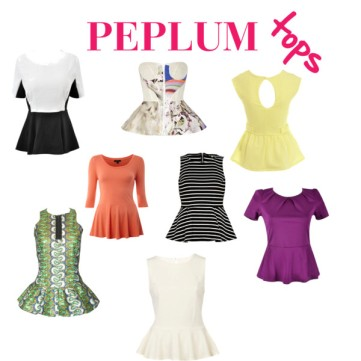 Spring Trend: The Peplum Top