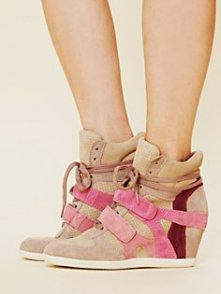Fashion News: Hot or Not? High Top Wedge Sneakers