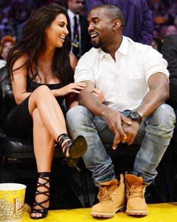 Celebrity Style: Kim Kardashian and Kanye West
