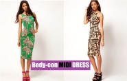 Fashion Guide: Body-Con MIDI DRESSES