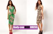 Fashion Guide: Body-Con MIDI DRESSES