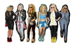 Celebrity Style: Rita Ora's Funky and Edgy 90's Style