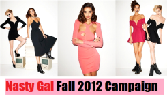Fashion News: NASTY GAL Fall 2012 Campaign