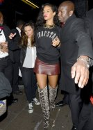 YAY OR NAY: RIHANNA'S PYTHON TOM FORD BOOTS AND MINISKIRT