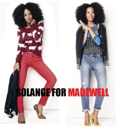 Celebrity News: Solange Knowles new face of Madewell