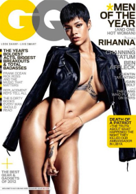 RIHANNA NUDE FOR GQ MAGAZINE