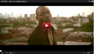 "Davido ""All of You"" Video"