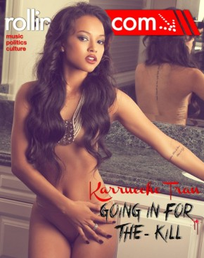 Karrueche for ROLLING OUT Magazine