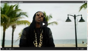 "NEW VIDEO: 2 Chainz ""I'm Different"""