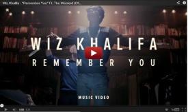 "Wiz Khalifa ft. The Weeknd ""Remember You"" Video"
