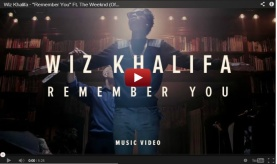 "Wiz Khalifa ft. The Weeknd ""Remember You"" Video"