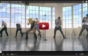"Beyonce ""Love on Top"" Video"