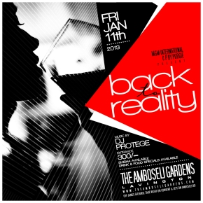 EVENT NEWS: MGM INT'L AND P. BY PORGIE PRESENT BACK TOREALITY