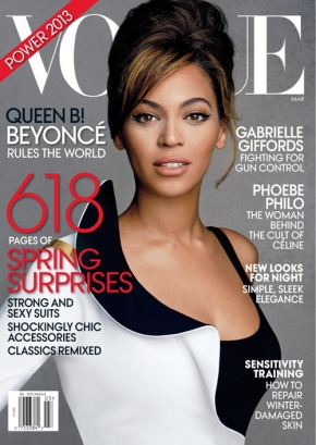 Beyoncé for VOGUE March 2013