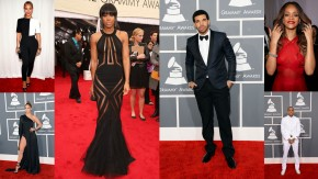 BEST LOOKS FROM 2013 GRAMMY AWARDS RED CARPET