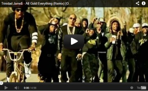 "NEW VIDEO: Trinidad James ft. Young Jeezy, T.I. and 2 Chainz-""All Gold Everything"" (Remix)"