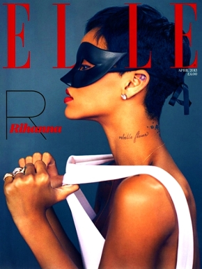 RIHANNA FOR ELLE UK April 2013