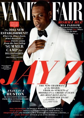 Jay Z covers Vanity Fair, Talks about Wife Beyonce, Daughter Blu Ivy Is His Biggest Fan, and His Love For The Rap Game